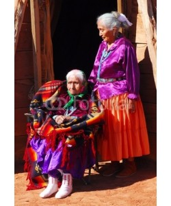 David Smith, Very old Navajo woman with her daughter