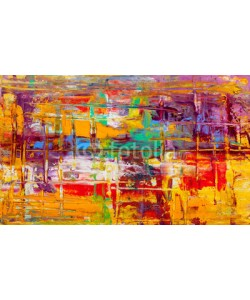 serge-b, Abstract paintings. Hand drawn oil painting. Color texture.
