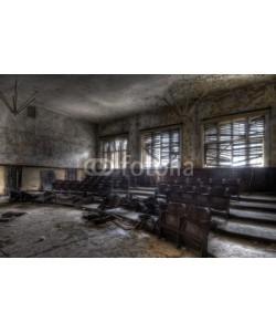 Grischa Georgiew, verfallener Hörsaal