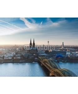 davis, Kölner Dom und Stadtpanorama