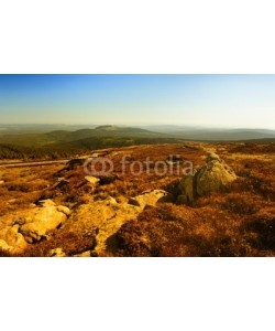 Foto Graf, Beautiful mountains in Brocken,Harz,Germany.