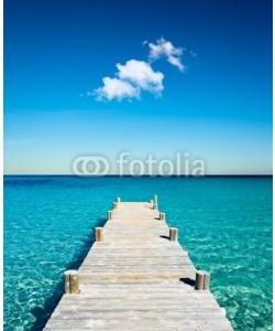 Beboy, plage vacances ponton bois