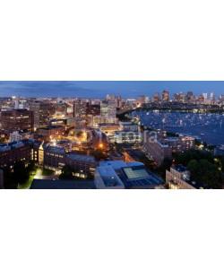 edan, Aerial view of Cambridge and Boston