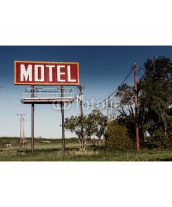 Andrew Bayda, Old motel sign on Route 66