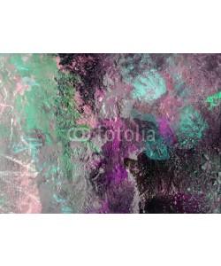 bittedankeschön, farben texturen leinwand pastos