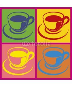 brimeux, Tasses multicolores