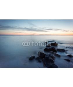 Michael, Steine im Meer - Seidenartiges Wasser