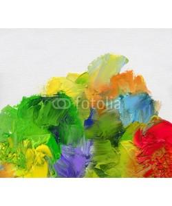 bittedankeschön, farben texturen leinwand