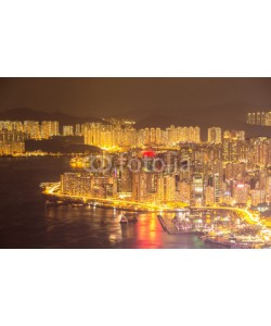 vichie81, Hong Kong Skyline night