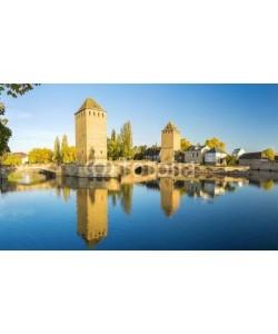 Alexi TAUZIN, Ponts Couverts à Strasbourg au coucher de soleil