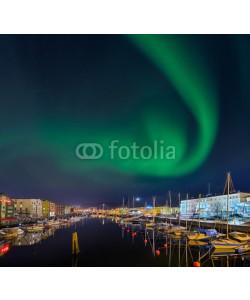 Blickfang, Nordlicht in Trondheim  Norwegen