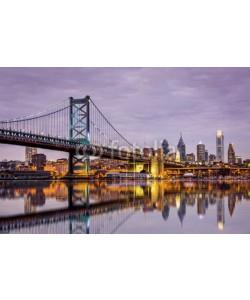 mandritoiu, Ben Franklin bridge and Philadelphia skyline