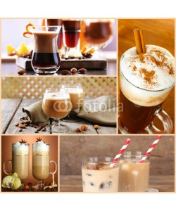 Africa Studio, Coffee cocktails collage