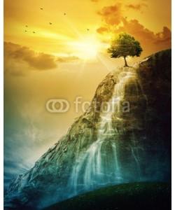 kevron2001, Waterfall tree