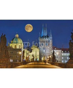 Blickfang, Karlsbrücke Prag beleuchtet