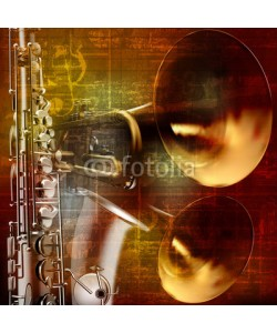 lembit, abstract grunge sound background with trumpets and saxophone