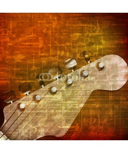 lembit, abstract grunge background with electric guitar