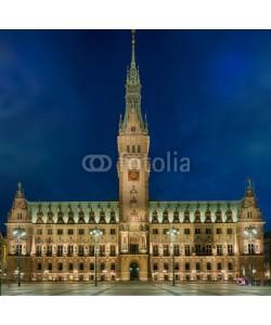 Blickfang, Hamburg Rathaus beleuchtet