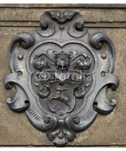 Blickfang, Wappen auf Karlsbrücke 18. Jahrhundert