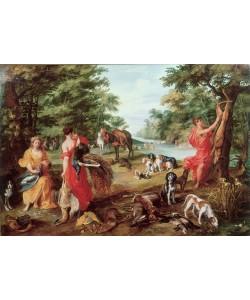 Jan Brueghel der Ältere, Die Jagd der Diana