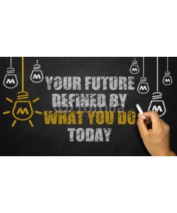 cacaroot, Your Future is Defined By What you do today