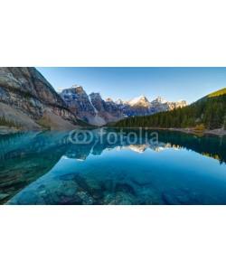 aiisha, Moraine lake panorama in Banff National Park, Alberta, Canada