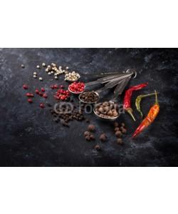 karandaev, Various peppercorn and chili pepper
