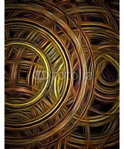 rolffimages, Circular Forms and Color Abstract