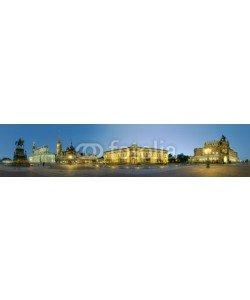Blickfang, Theaterplatz  Dresden beleuchtet 360 Grad