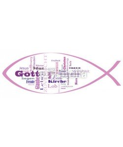 katjaneben_888, Fischsymbol, Kirche, Gott, Konfirmation, Kommunion, Religion