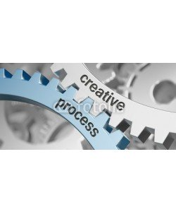 Coloures-pic, Cogwheel / creative process