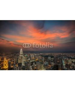 anekoho, Malaysia city skyline.