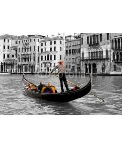 Blickfang, Gondeln in Venedig sw col