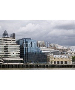 Blickfang, Architektur an der Themse in London