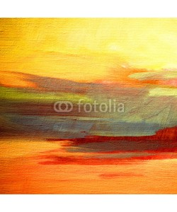 Mikhail Zahranichny, abstract landscape oil painting on canvas for interior, illustra