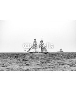 eplisterra, Sailing ships on the sea. Tall Ship.Yachting and Sailing travel.