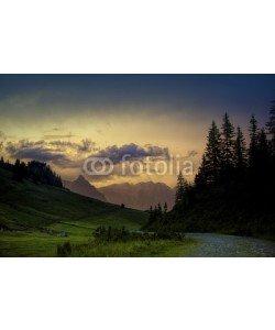 Nailia Schwarz, Evening in the Alps