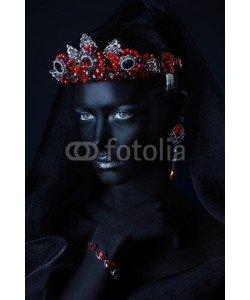 Andrey Kiselev, african queen in tiara