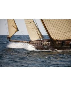 Christophe Baudot, Old sailing boat