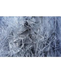kichigin19, Transparent ice crystals texture cracked background