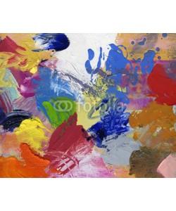 bittedankeschön, ölfarben acryfarben gespachtelt gemalt bunt