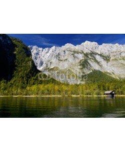dina, Das Watzmannmasiv im Nationalpark Berchtesgaden, Germany