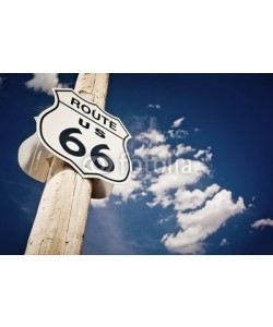 Andrew Bayda, Historic route 66 route sign