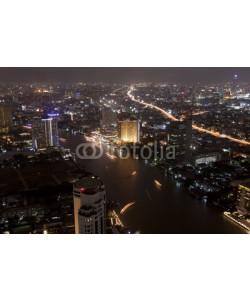 anekoho, Bangkok city at twilight