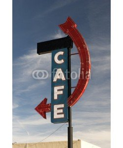 forcdan, Cafe on Route 66