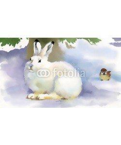 Nadiia Starovoitova, Winter rabbit