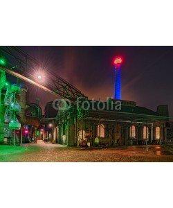 Blickfang, Landschaftspark Duisburg Nacht