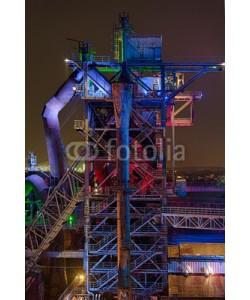 Blickfang, Landschaftspark Duisburg beleuchtet