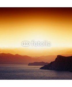 Ig0rZh, Sunset, mountains, sea