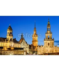 Mapics, Die Türme von Dresden, Deutschland